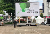 LED-Wand Trailer 28m²  in 33106 Paderborn mieten
